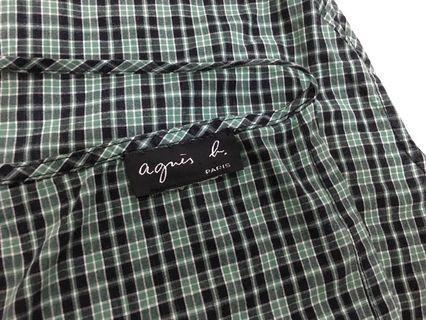 限量版Agnes. b 圍裙款襯衫