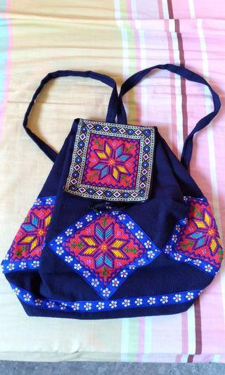 🚚 Colorful tribal backpack