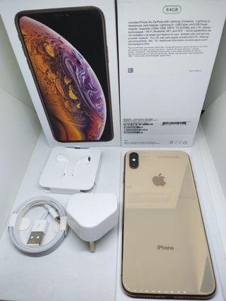 Apple iPhone XS Max 64Gb Gold Internasional Surabaya