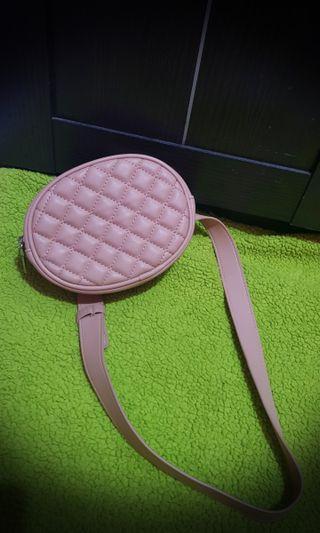 Waist Bag Pull & Bear Ori 100% (Pink)