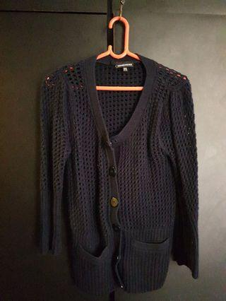 Dark Navy Blue Cardigan