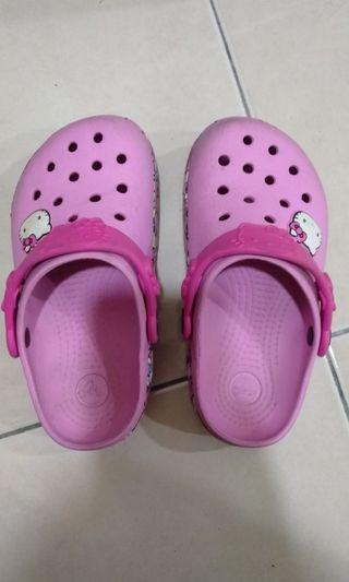 Original Hello Kitty crocs shoes