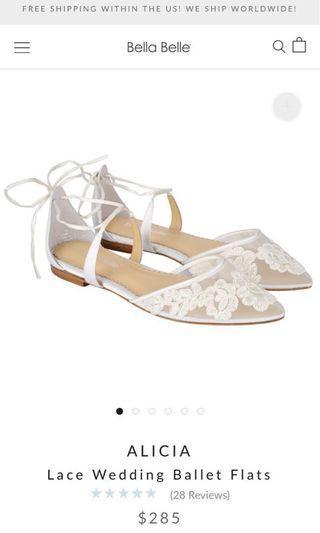 Bella Belle wedding shoes *new*