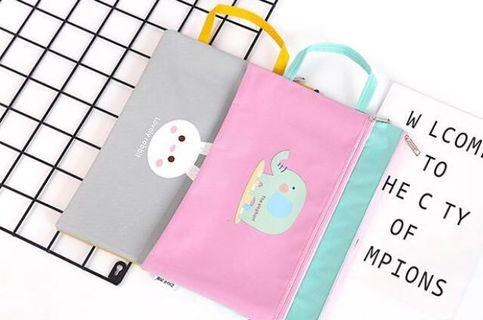 Cute animal A4 document bag #MrtSengkang #MrtHougang