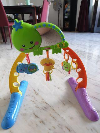 Fisher Price Turtle Baby Gym Tummy Time