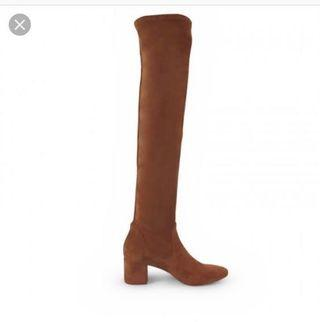 Wittner over the knees suede boots