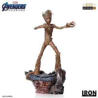 (PO) Avengers: Endgame BDS Art Scale 1/10 - Groot