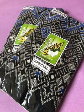 Kain batik corak songket sarawak