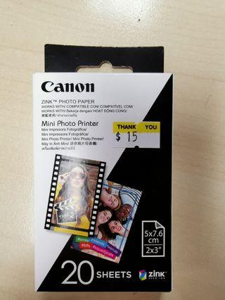 CANON ZINK Photo Paper