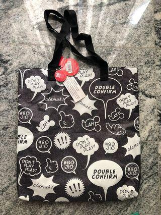 Authentic and brand new Disney Water Resistant Tote
