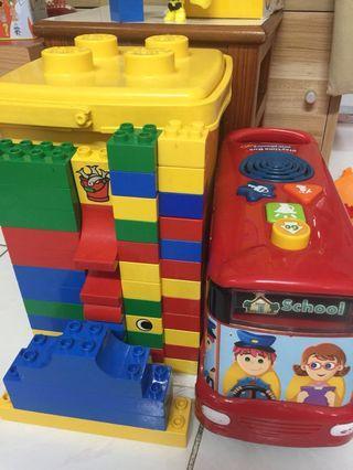 Lego &巴士