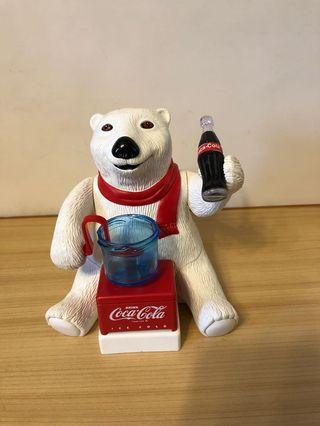 可口可樂熊吹泡泡