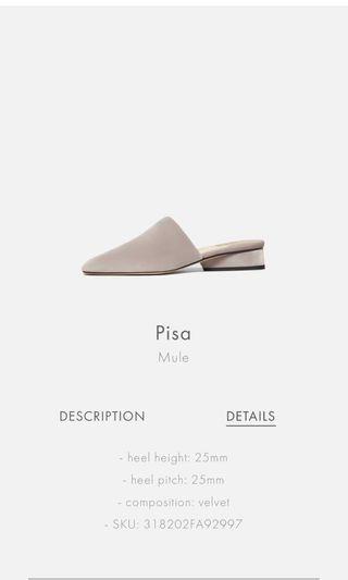 Paul Andrew Pisa mule shoes slippers