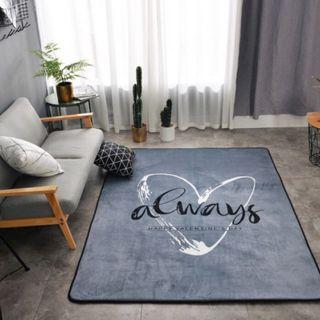 Love Always Big Soft Scandi Carpets / Rugs