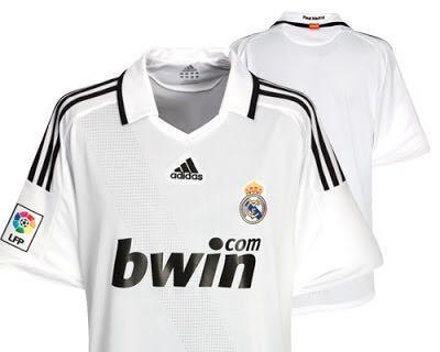 全新 08/09 皇馬主場球衣 Adidas Real Madrid Home Kit