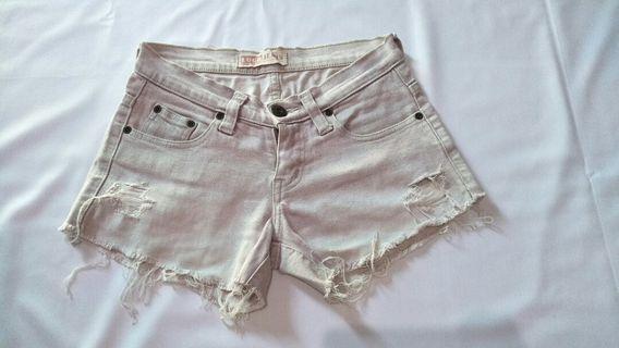 LOGO hot pants