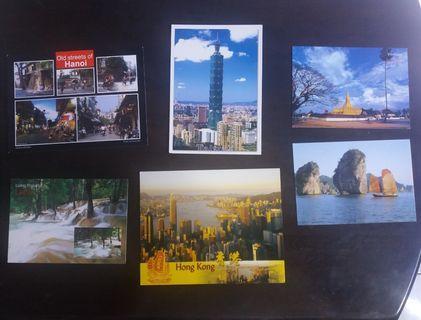 Mixed country postcard ( rm 5/ pcs )