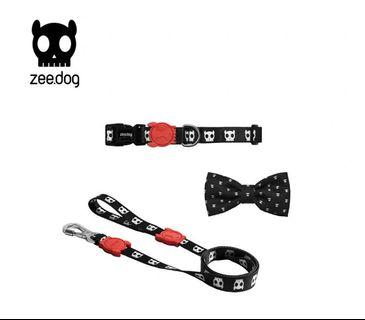 BN ZeeDog Space Invaders Street Style Fashion Bow Tie Pet Collar Harness Leash for Dogs Cats Puppies