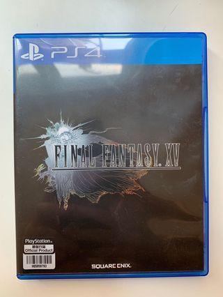 PS4 game 遊戲 Final Fantasy XV 15