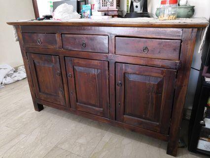 Teakwood wooden Cabinet Sideboard side board