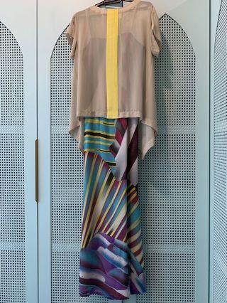 Custom Tailor-made Dress with Top