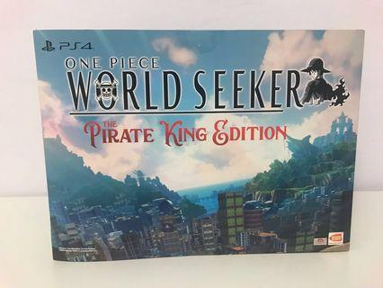 🚚 PS4 One Piece World Seekers: The pirate king edition