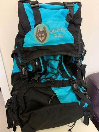 60L MOUNTAIN-WOLF Backpack