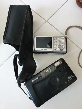 Used Samsung digital A503 & Nikon