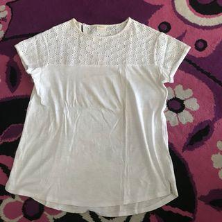 Zara Blouse putih