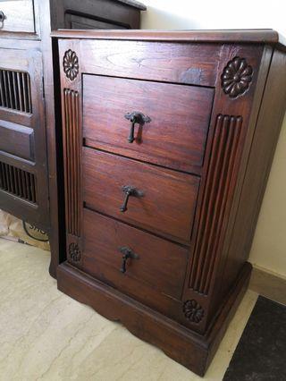 Teak Cabinet chest drawer sideboard side board