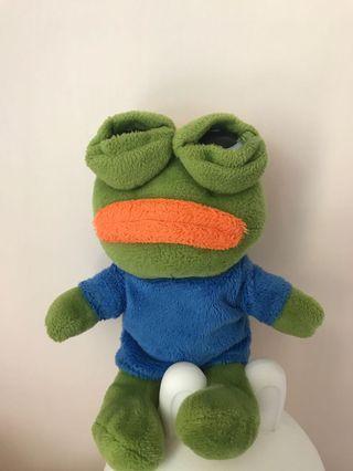Pepe 青仔 公仔 (迷你版)