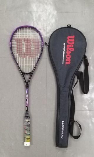 Wilson Graphite Squash Racket 198g