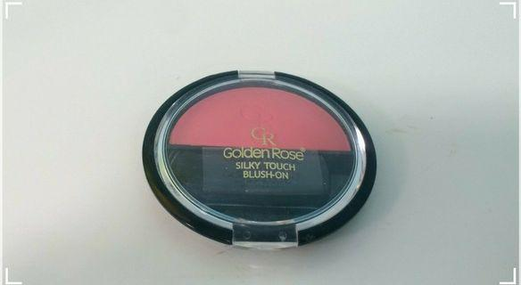 #SALE Golden Rose Silky Touch Blush-On (Soft Coral)