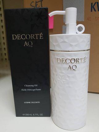 Decorte cleansing oil
