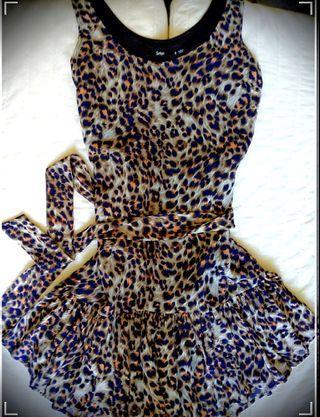 SPORTSGIRL Leopard Print Dress sz6
