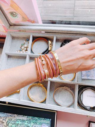 「專櫃購入」Vita Fede 珍珠手環、經典鑽手環