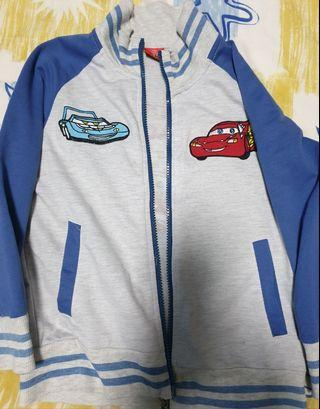 🚚 Lightning mcqueen jacket size 130