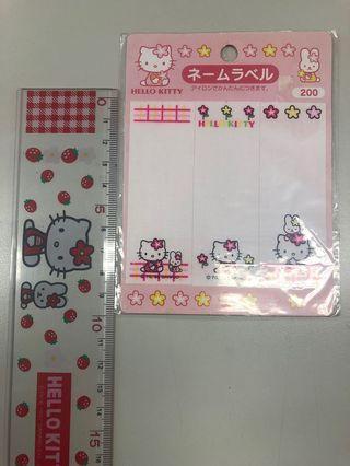 Hello Kitty 熨章 珍藏品