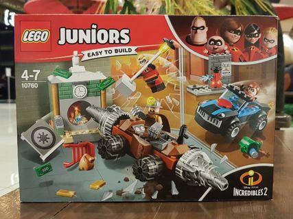 Lego Disney Juniors 10760 Incredibles MISB