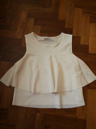 Zara Ruffle Crop Top