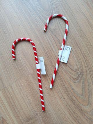 Candy Cane Pencils