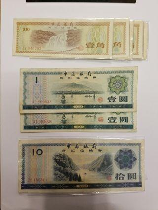 1979年兌換券