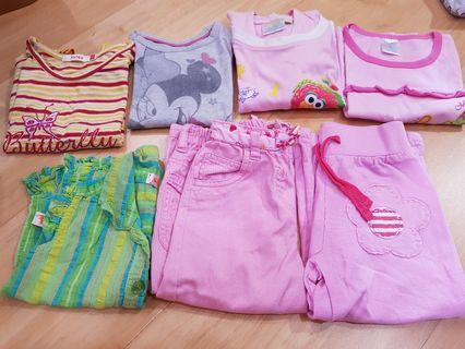 Baby Girls Apparel RM5 each 1-2yo