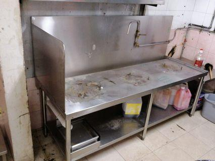 Cooking 3 Stove table ( sus)