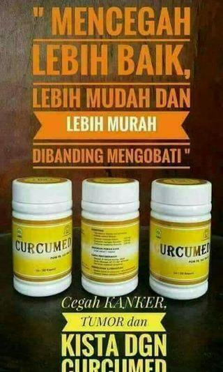 100%Original Curcumed Pencegah kanser