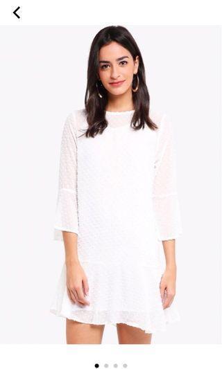 [New] Zalora White Dress