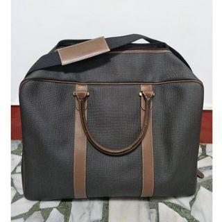 🚚 男士質感手提包 旅行包 旅行袋 收納包(內含背帶)-新品