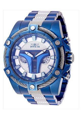 Invicta Men's Star Wars Quartz Watch - Stainless-Steel Strap Blue 26 (Model: 27969)