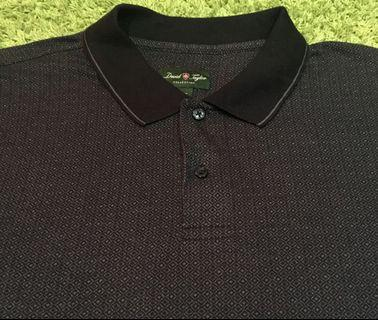 DAVID TAYLOR COLLECTION POLO TEE
