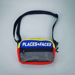 全新正貨 Places + Faces P+F 斜咩袋